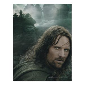 Aragorn and Ringwraiths Postcard