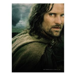 Aragorn Close Up Postcard