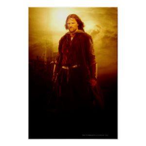 Aragorn Glowing Poster