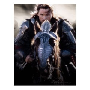 Aragorn Riding Horse Postcard