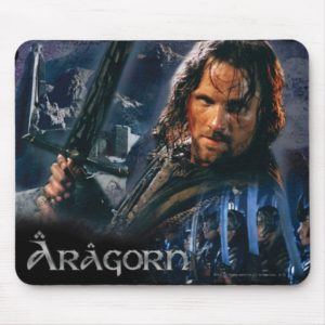 Aragorn With Army Mouse Pad