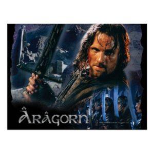 Aragorn With Army Postcard