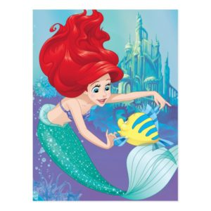 Ariel   Besties Rule Postcard