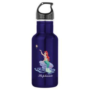 Ariel Sitting on Rock Water Bottle