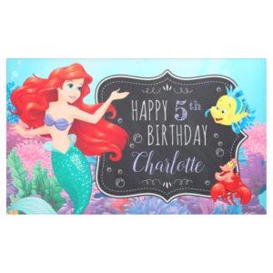 Ariel   The Little Mermaid - Chalkboard Banner