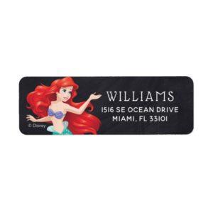 Ariel   The Little Mermaid   Chalkboard Birthday Label