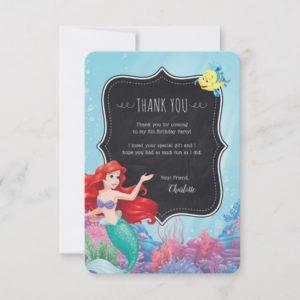 Ariel | The Little Mermaid - Chalkboard Thank You