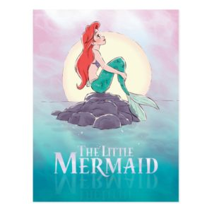 Ariel | The Little Mermaid - Pearlescent Princess Postcard