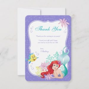 Ariel | Under the Sea Adventure Thank You
