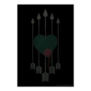 Arrow   Arrows Shot Through Heart Poster