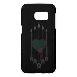 Arrow | Arrows Shot Through Heart Samsung Galaxy S7 Case