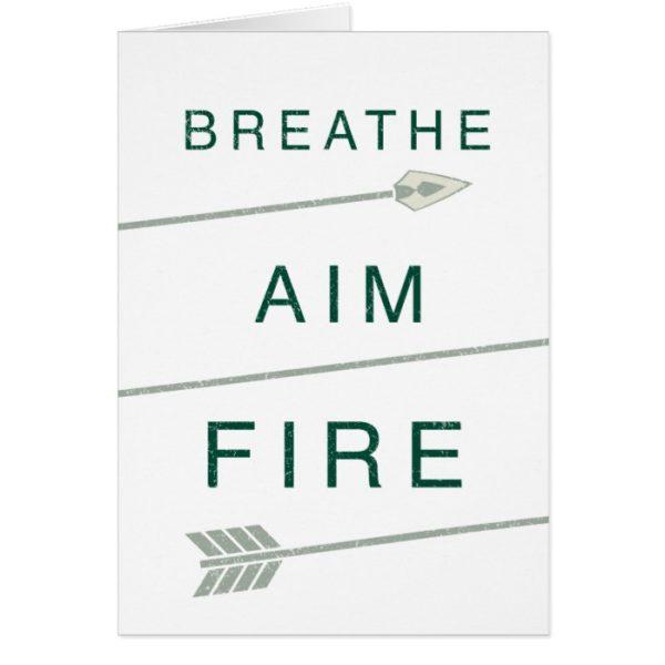 Arrow   Breathe Aim Fire