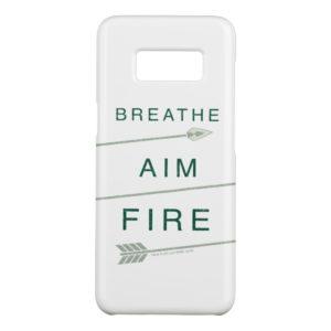 Arrow | Breathe Aim Fire Case-Mate Samsung Galaxy S8 Case