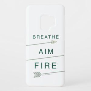 Arrow | Breathe Aim Fire Case-Mate Samsung Galaxy S9 Case