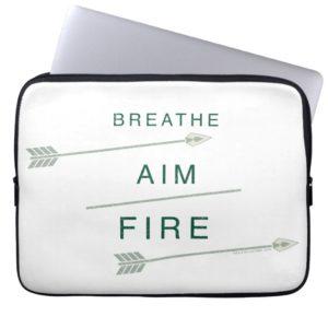 Arrow | Breathe Aim Fire Computer Sleeve