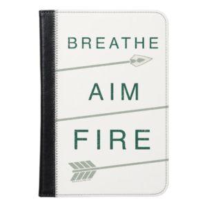 Arrow | Breathe Aim Fire iPad Mini Case
