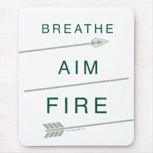Arrow   Breathe Aim Fire Mouse Pad