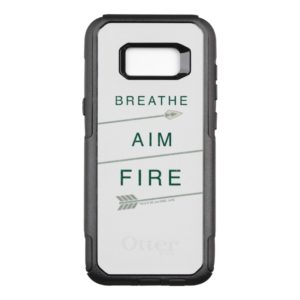 Arrow | Breathe Aim Fire OtterBox Commuter Samsung Galaxy S8+ Case