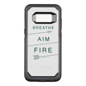 Arrow | Breathe Aim Fire OtterBox Commuter Samsung Galaxy S8 Case