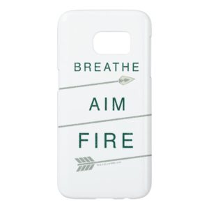 Arrow   Breathe Aim Fire Samsung Galaxy S7 Case