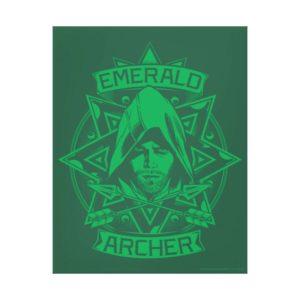 Arrow | Emerald Archer Graphic Canvas Print