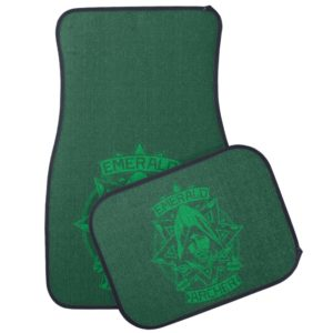 Arrow | Emerald Archer Graphic Car Floor Mat