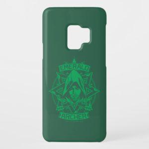 Arrow | Emerald Archer Graphic Case-Mate Samsung Galaxy S9 Case