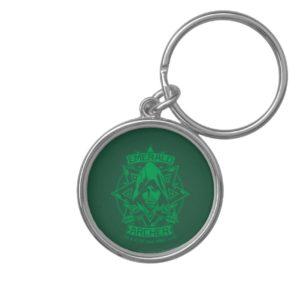 Arrow | Emerald Archer Graphic Keychain