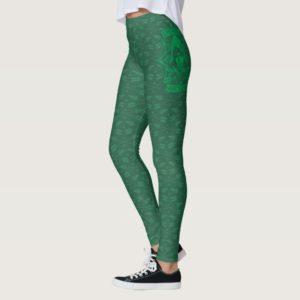 Arrow | Emerald Archer Graphic Leggings