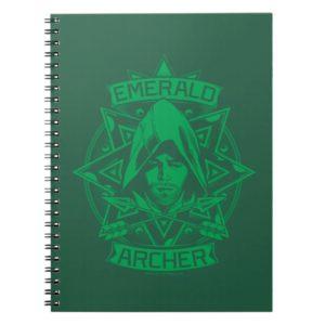 Arrow | Emerald Archer Graphic Notebook