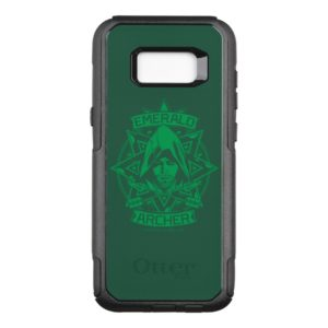 Arrow | Emerald Archer Graphic OtterBox Commuter Samsung Galaxy S8+ Case