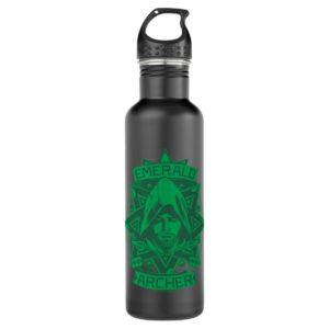 Arrow   Emerald Archer Graphic Stainless Steel Water Bottle