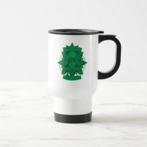 Arrow   Emerald Archer Graphic Travel Mug