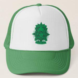 Arrow   Emerald Archer Graphic Trucker Hat