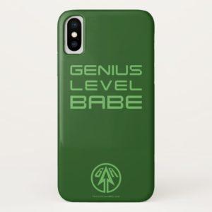 Arrow   Genius Level Babe Case-Mate iPhone Case