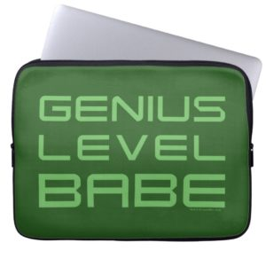 Arrow | Genius Level Babe Computer Sleeve