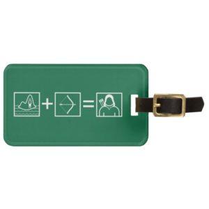Arrow | Green Arrow Equation Bag Tag