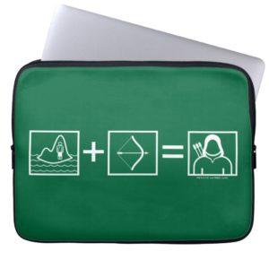 Arrow | Green Arrow Equation Computer Sleeve