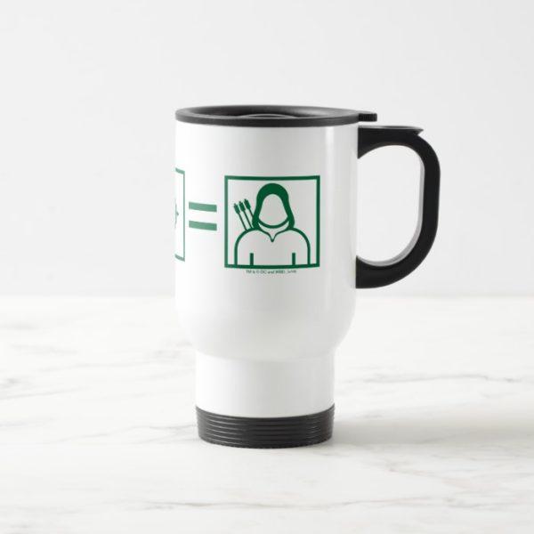 Arrow | Green Arrow Equation Travel Mug