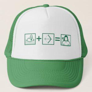Arrow | Green Arrow Equation Trucker Hat