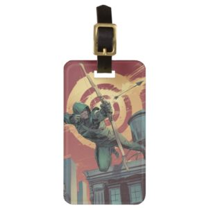 Arrow | Green Arrow Fires From Rooftop Bag Tag