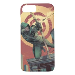 Arrow   Green Arrow Fires From Rooftop Case-Mate iPhone Case
