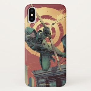 Arrow | Green Arrow Fires From Rooftop Case-Mate iPhone Case
