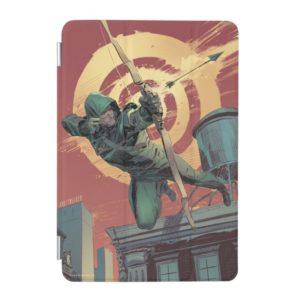 Arrow | Green Arrow Fires From Rooftop iPad Mini Cover