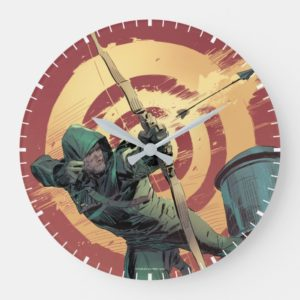 Arrow   Green Arrow Fires From Rooftop Large Clock