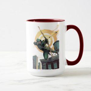 Arrow | Green Arrow Fires From Rooftop Mug