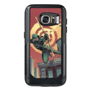 Arrow   Green Arrow Fires From Rooftop OtterBox Samsung Galaxy S7 Case
