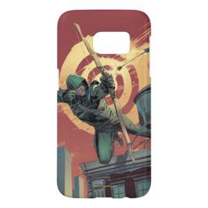 Arrow | Green Arrow Fires From Rooftop Samsung Galaxy S7 Case