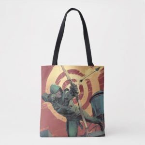 Arrow | Green Arrow Fires From Rooftop Tote Bag