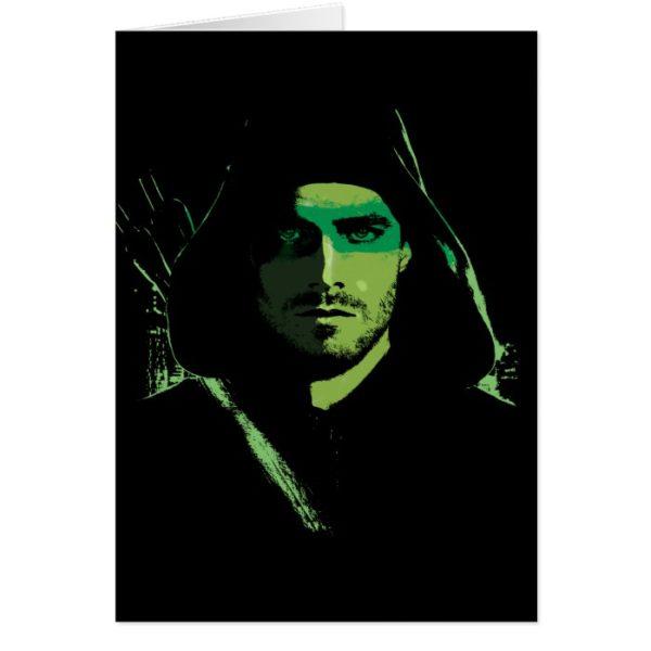 Arrow | Green Arrow Green Stylized Cutout